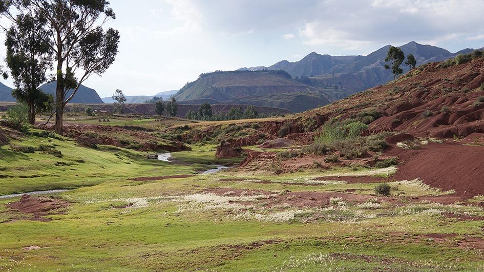 Montagne e campi di Potolo