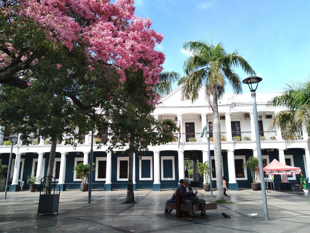 Plaza Central de Santa Cruz de la Sierra