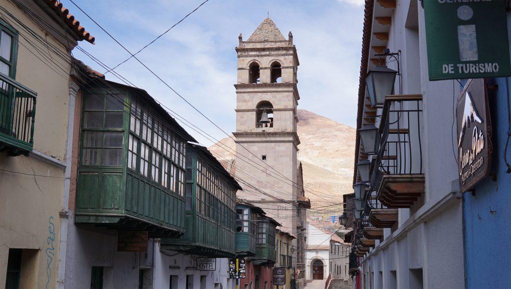 Potosì, centro della città e Cerro Rico
