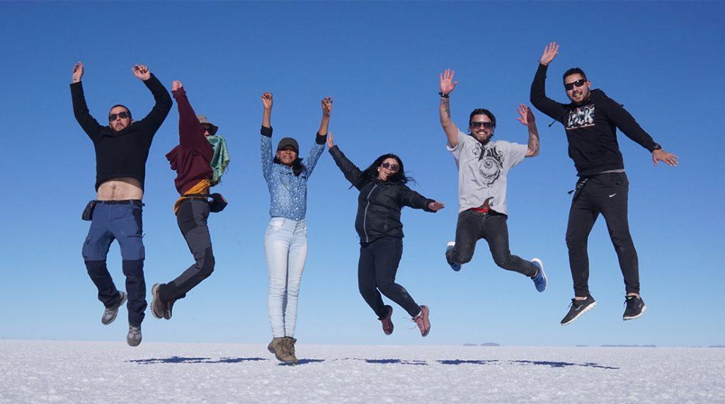 Salar de Uyuni, tour con amici