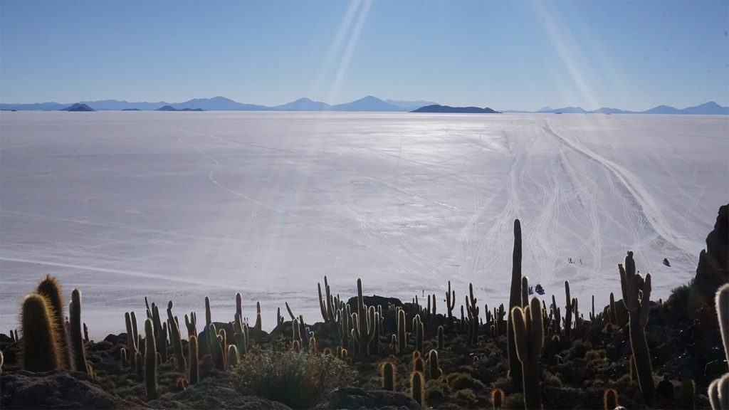 Salar de Uyuni, Isla Inca Huasi