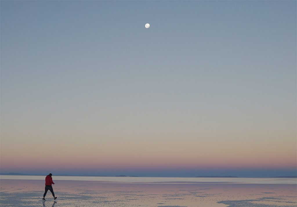 Salar de Uyuni, notte