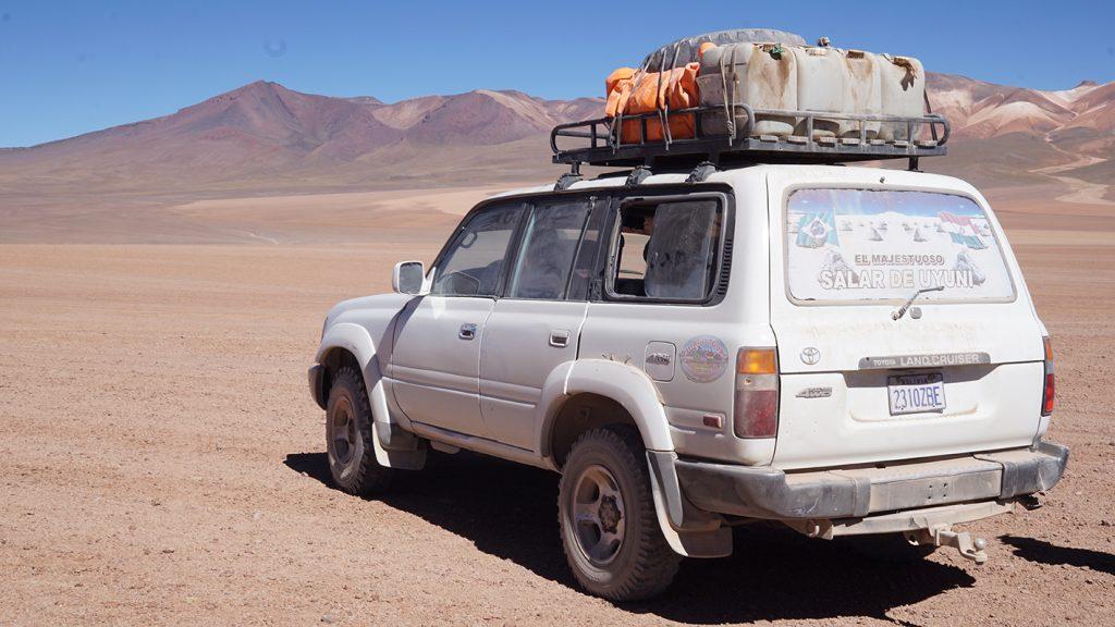 Salar de Uyuni, jeep tour