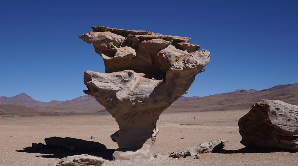 Salar de Uyuni, Arbol de Piedra