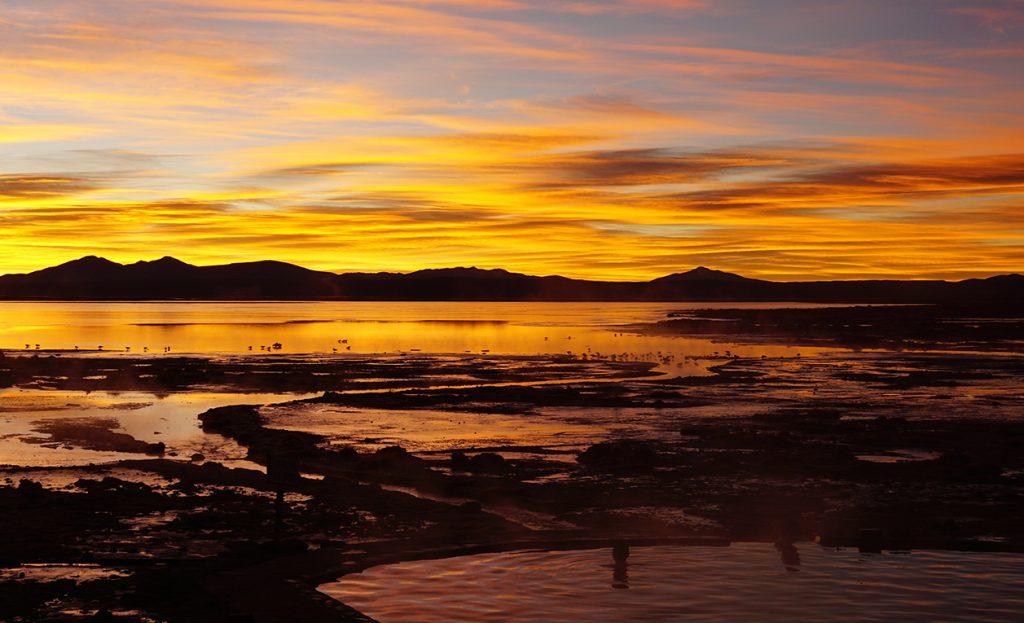 Salar de Uyuni, Aguas Termales de Polques