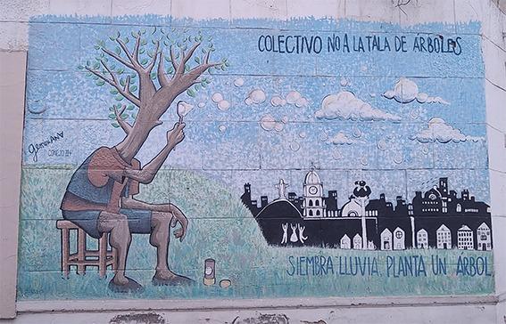 Cochabamba, the town of trees No A La Tala De Arboles collective against deforestation Cochabamba