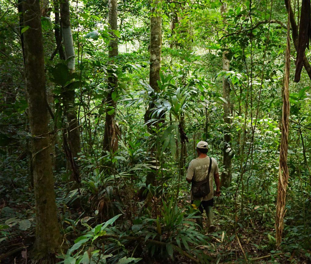 sciamano guida nella selva amazzonica bolivia