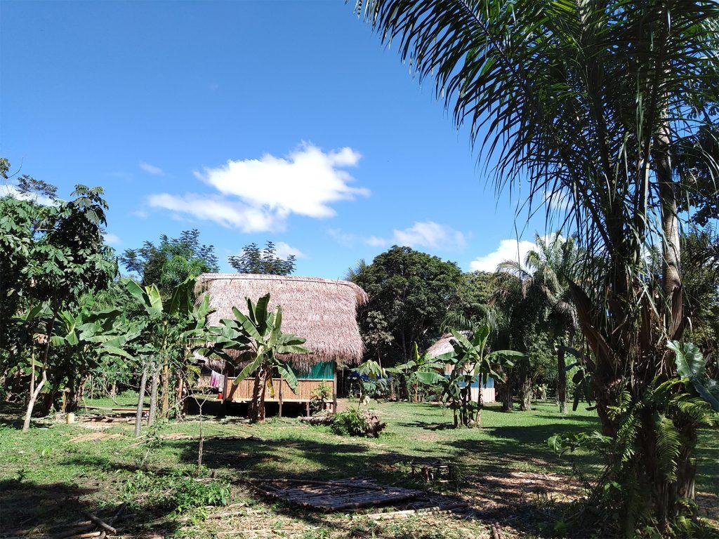Accampamento comunità indigena Rio San Miguel