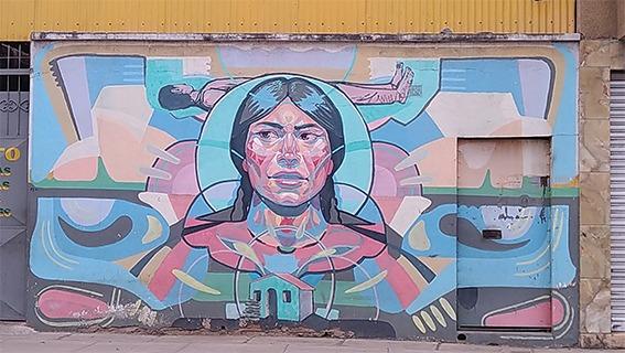Machismo, feminicides and family in Bolivia El Decertor murales 2015 Cochabamba