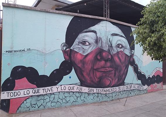 Pachamama, Martanoemi murales Cochabamba