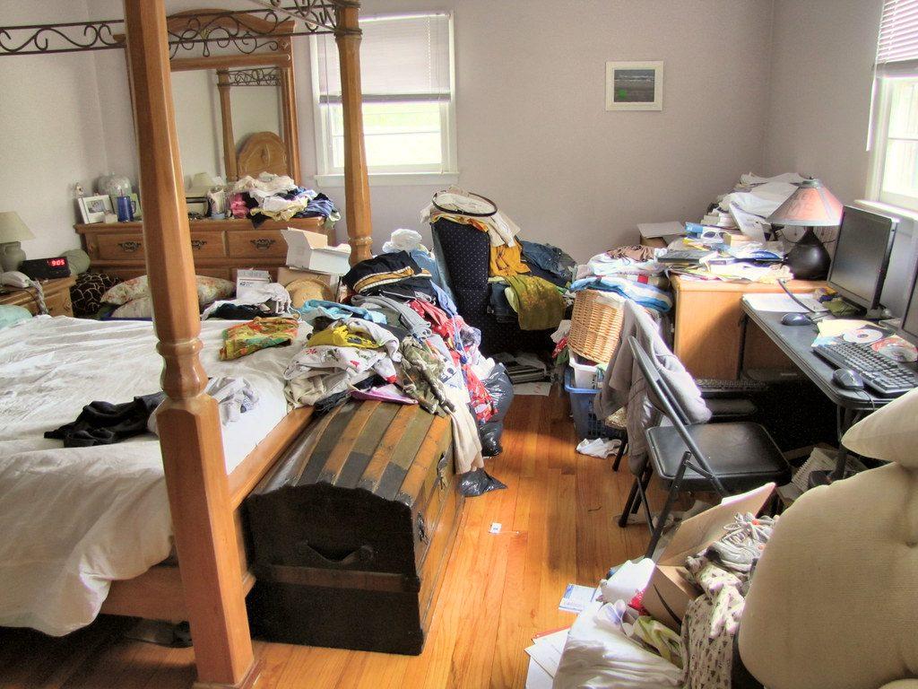 Decluttering ridurre all'essenziale