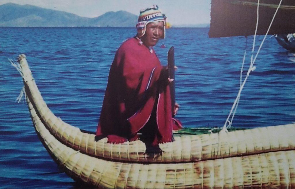 Costruttore barche di totora