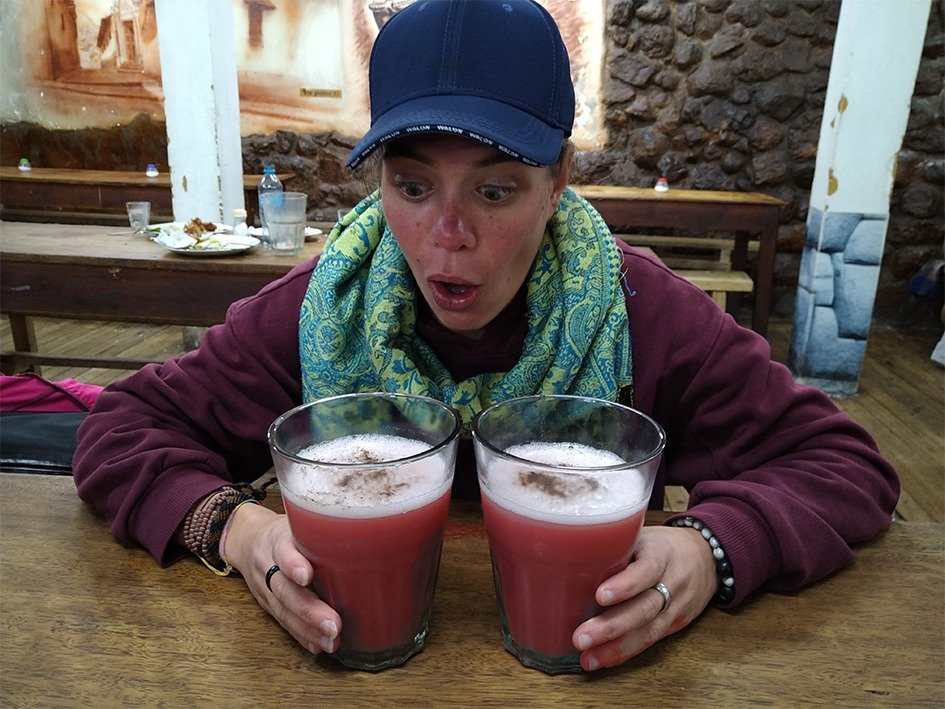 Chicha bevanda sacra Inca