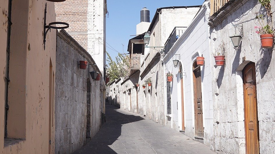 Barrio San Lazaro Arequipa