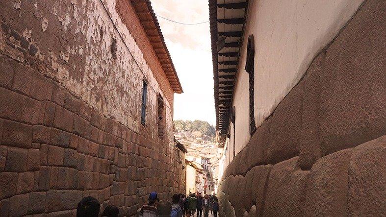 Mura Inca e mura coloniali