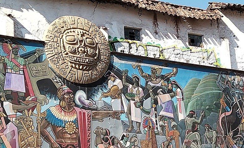 Sole (Inti) simbolo di Cusco