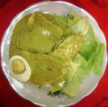 Ocopa piatto tipico Arequipa