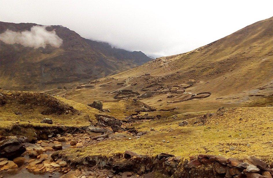 Hatun Q'ero, Nacion Q'ero, Cusco, Ande