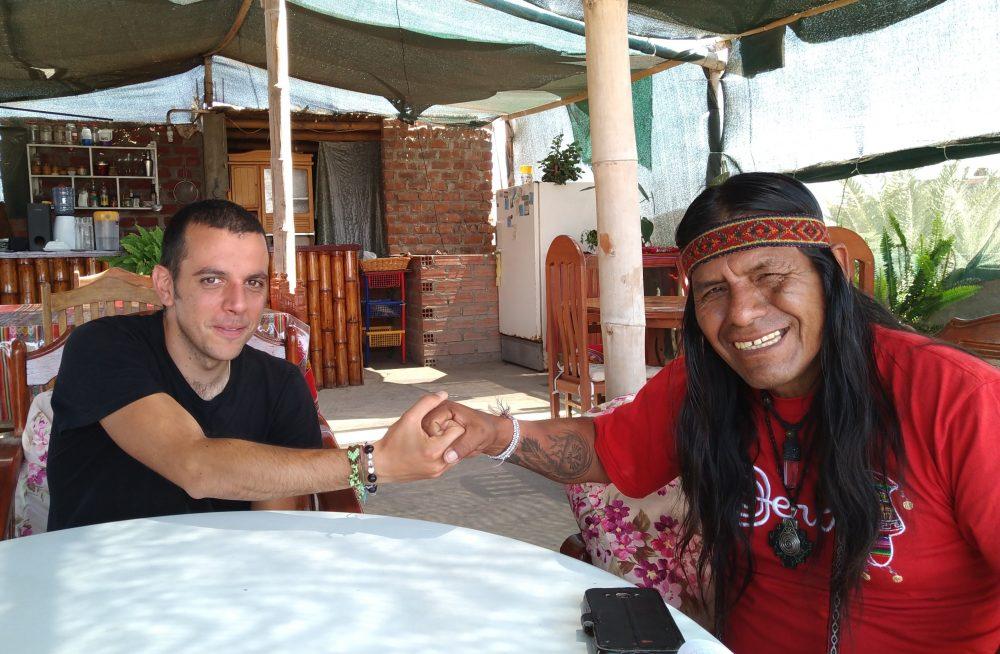 Felix Quispe Sarmiento sciamano curandero Orcona