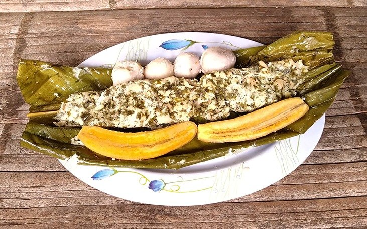 Ayampaco cucina tipica shuar